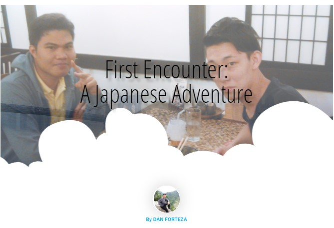 Dan Travels First Encounter: A Japanese Adventure