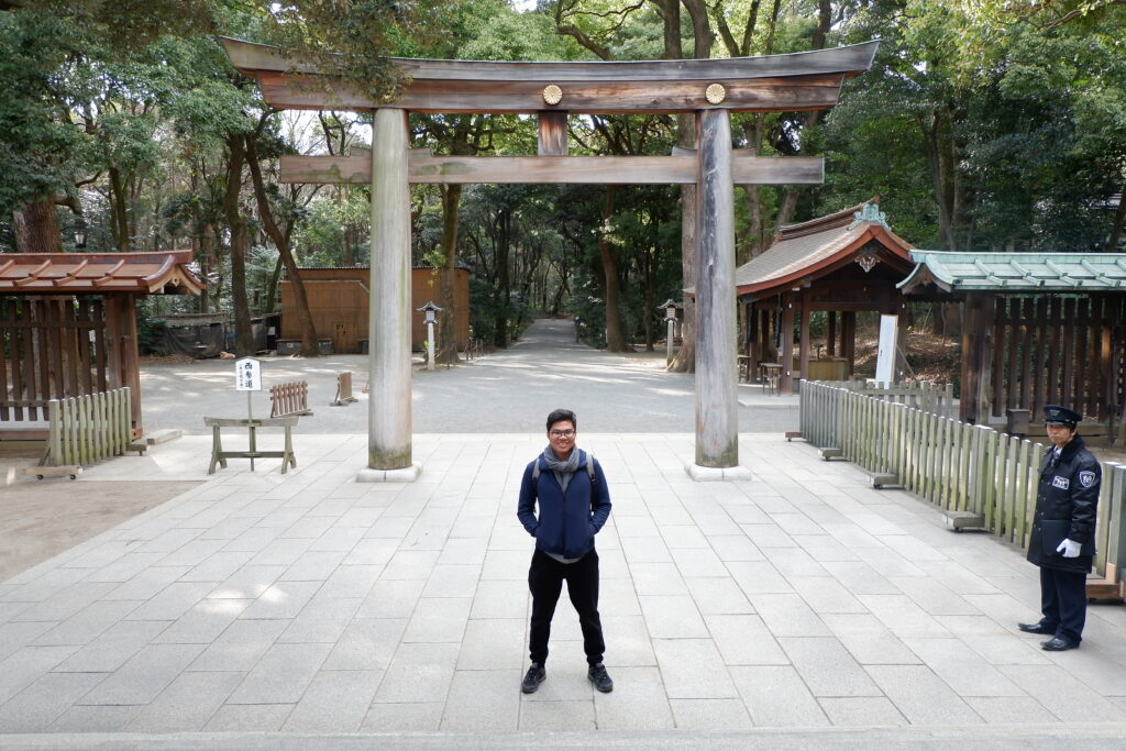 Meiji Shrine japanese tourist visa how to apply