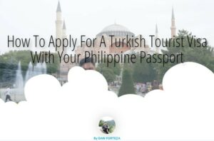 How To Apply For A Turkish Tourist Visa With Your Philippine Passport