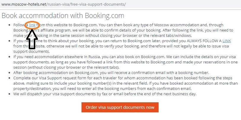 Booking,com via Moscow-Hotels.net