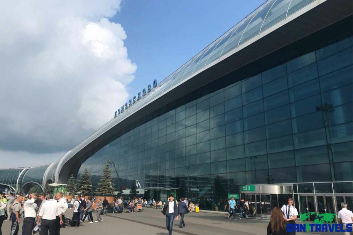 Moscow Domodedovo Airport (DME) Russia Itinerary
