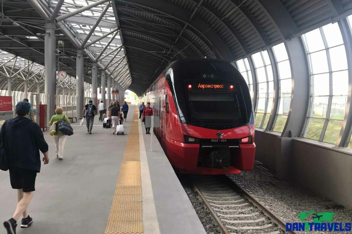 Day 1: Aerotrain going to downtown Moscow | Dantravels.org Russia Itinerary