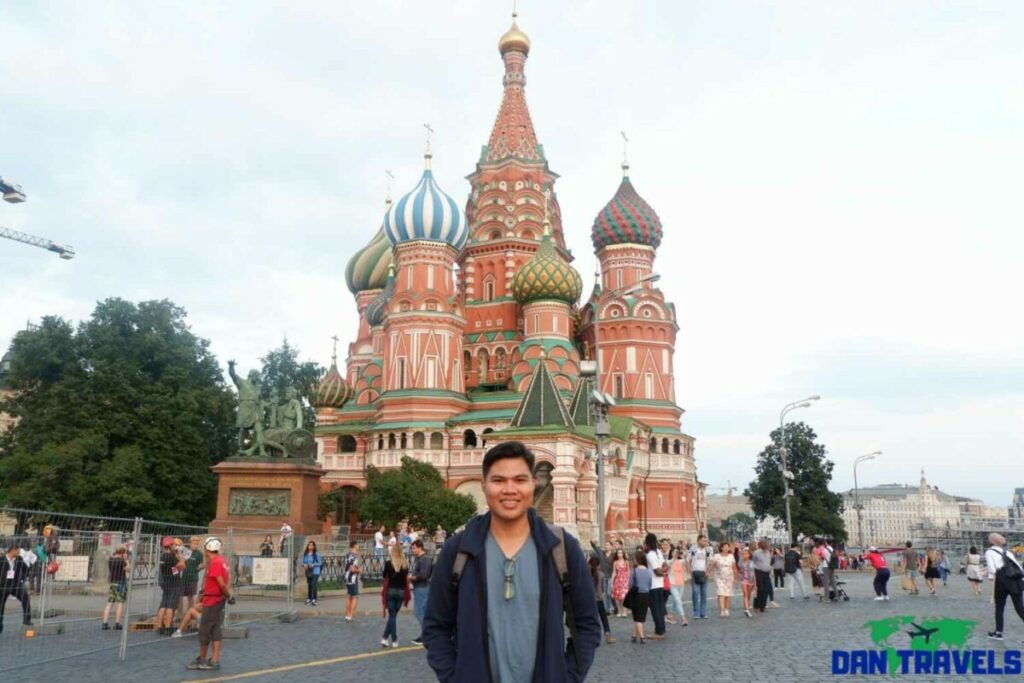 Saint Basil's Cathedral in Red Square - Russia Itinerary