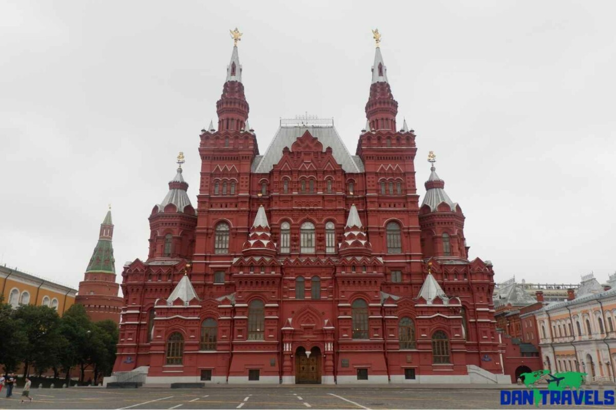 Russia Itinerary. Day 2: The State History Museum - A less crowded Red Square | Dantravels.org