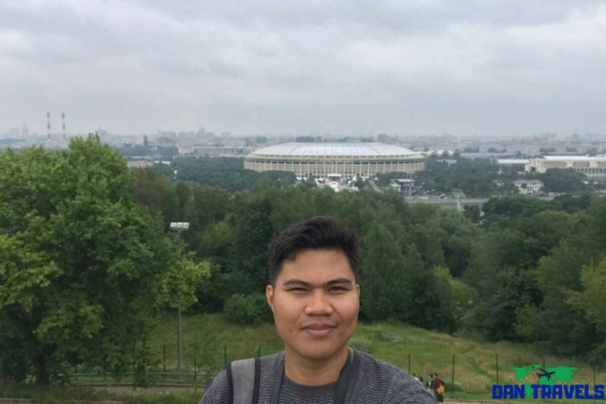 Russia Itinerary. Day 2: The 2018 FIFA stadium from the Sparrow Hills