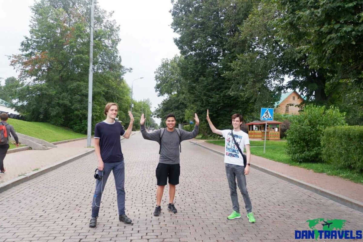 Russia Itinerary. Day 2: My Russian associates at Kolomenskoye | Dantravels.org
