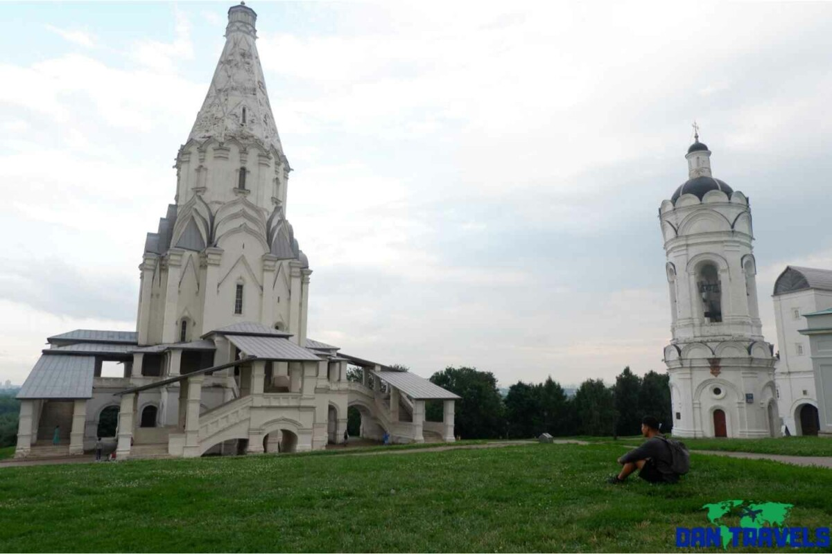 Day 2: The Church of the Ascension located at Kolomenskoye | Dantravels.org