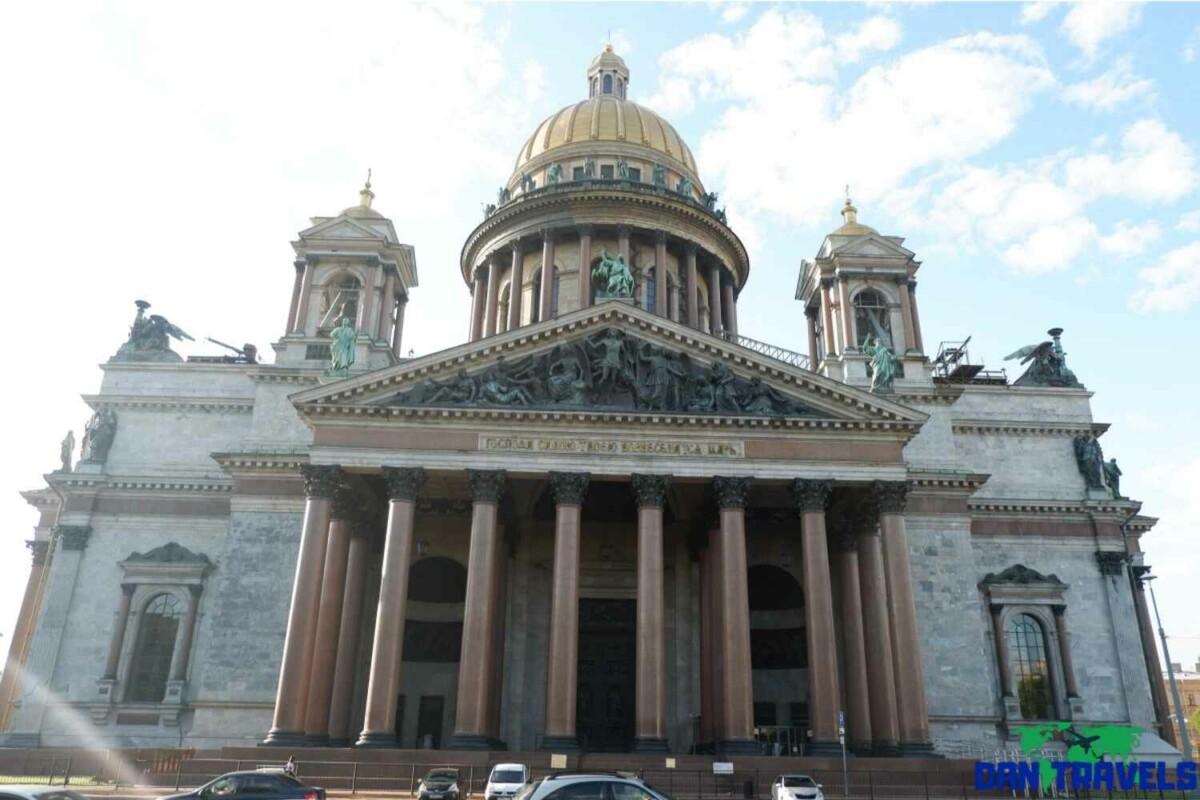 Day 4: St Isaac Cathedral | Dantravels.org