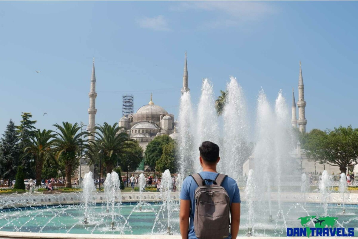 Day 2: The Blue Mosque at Sultanahmet | Dantravels.org