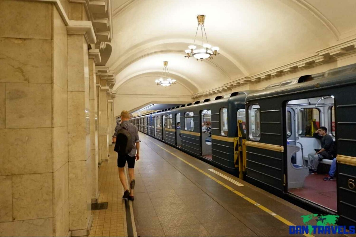 Day 4: A subway station in St Petersburg | Dantravels.org