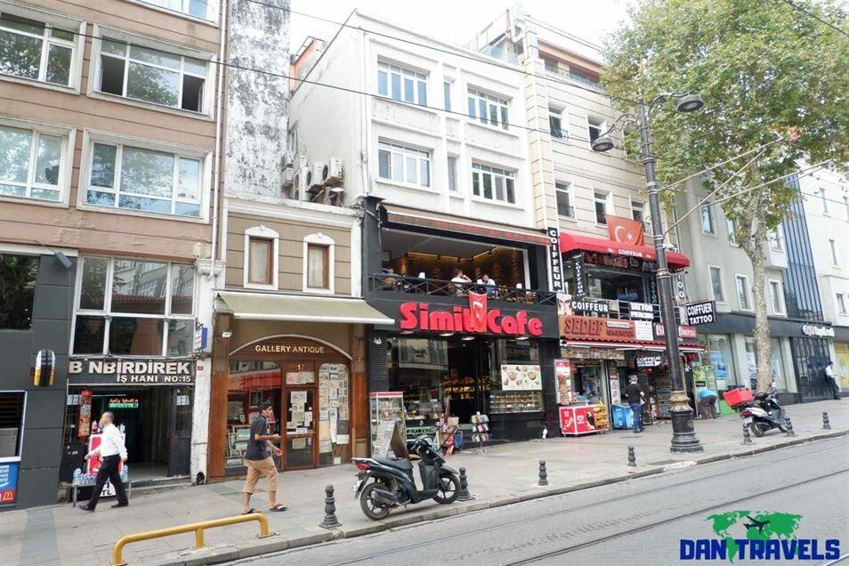 At Divanyulo street Turkey itinerary