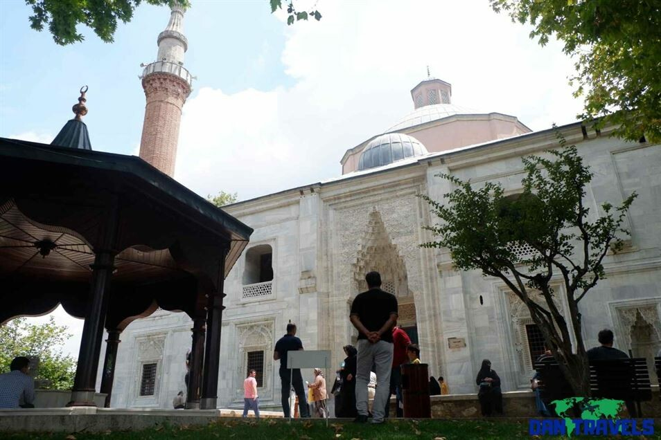 At the Green Mosque Turkey itinerary