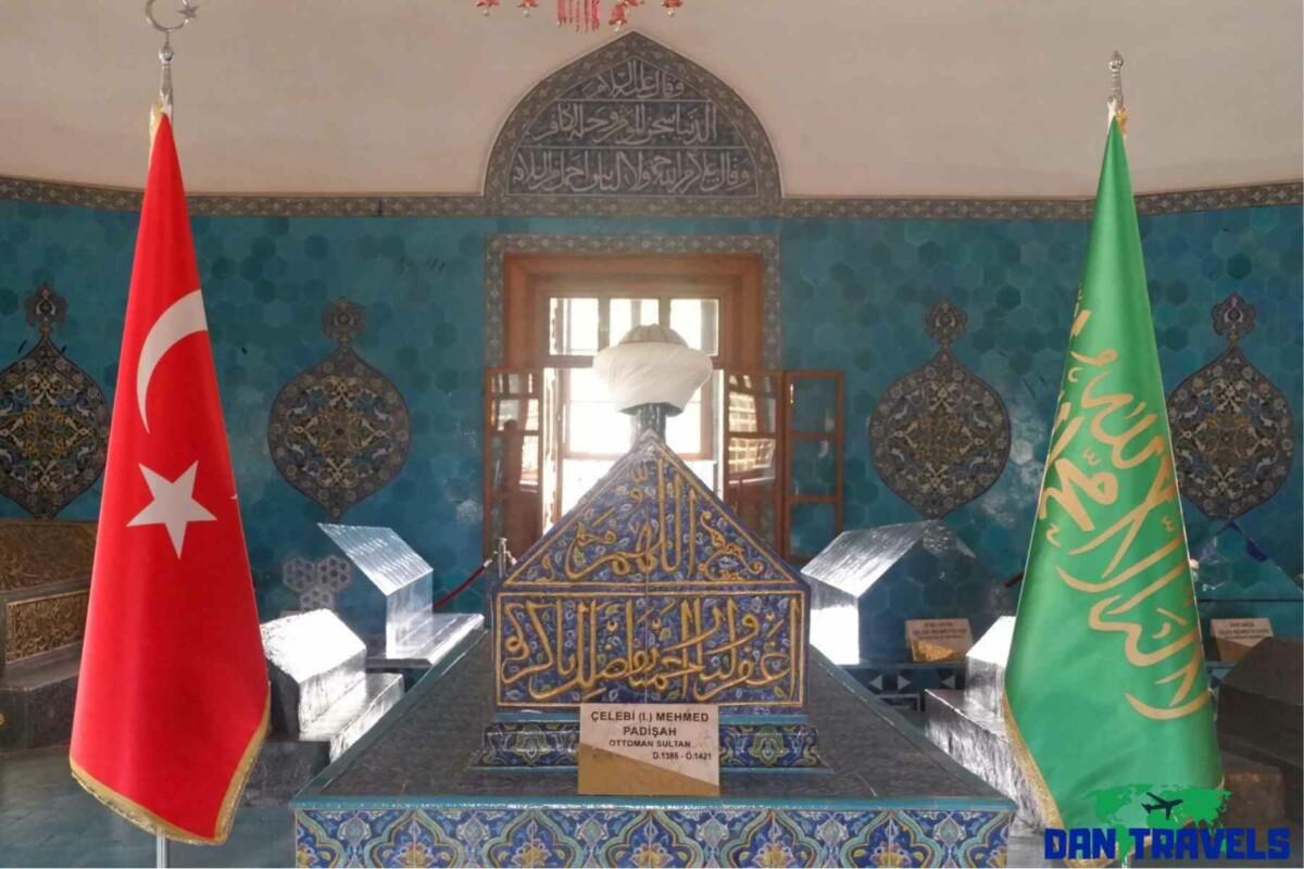The Green Tomb Turkey itinerary