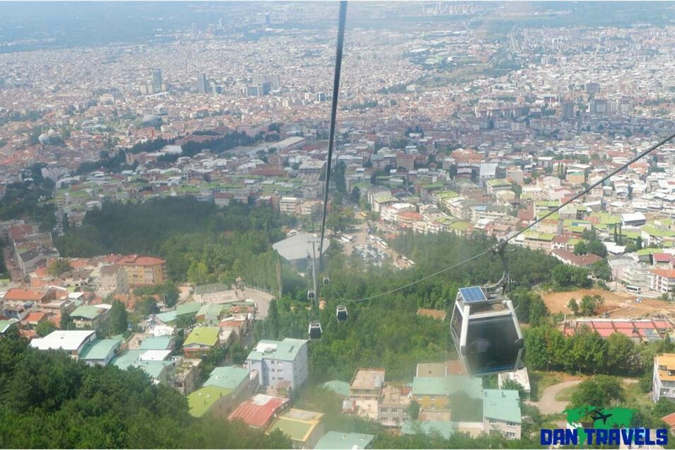 Cable cars e to Mt. Uludag Turkey itinerary