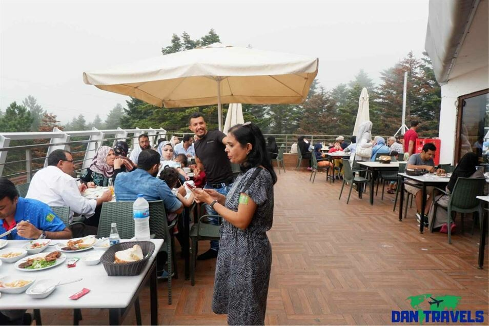 Lunch at Mt Uludag Turkey itinerary