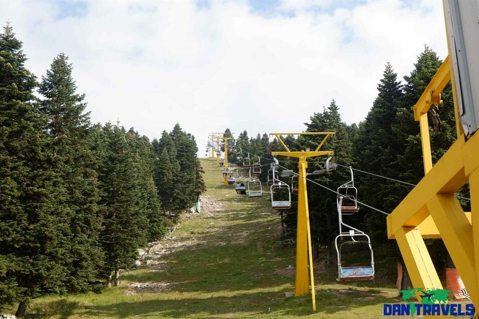 Open Cable Car in Mt. Uludag Turkey itinerary
