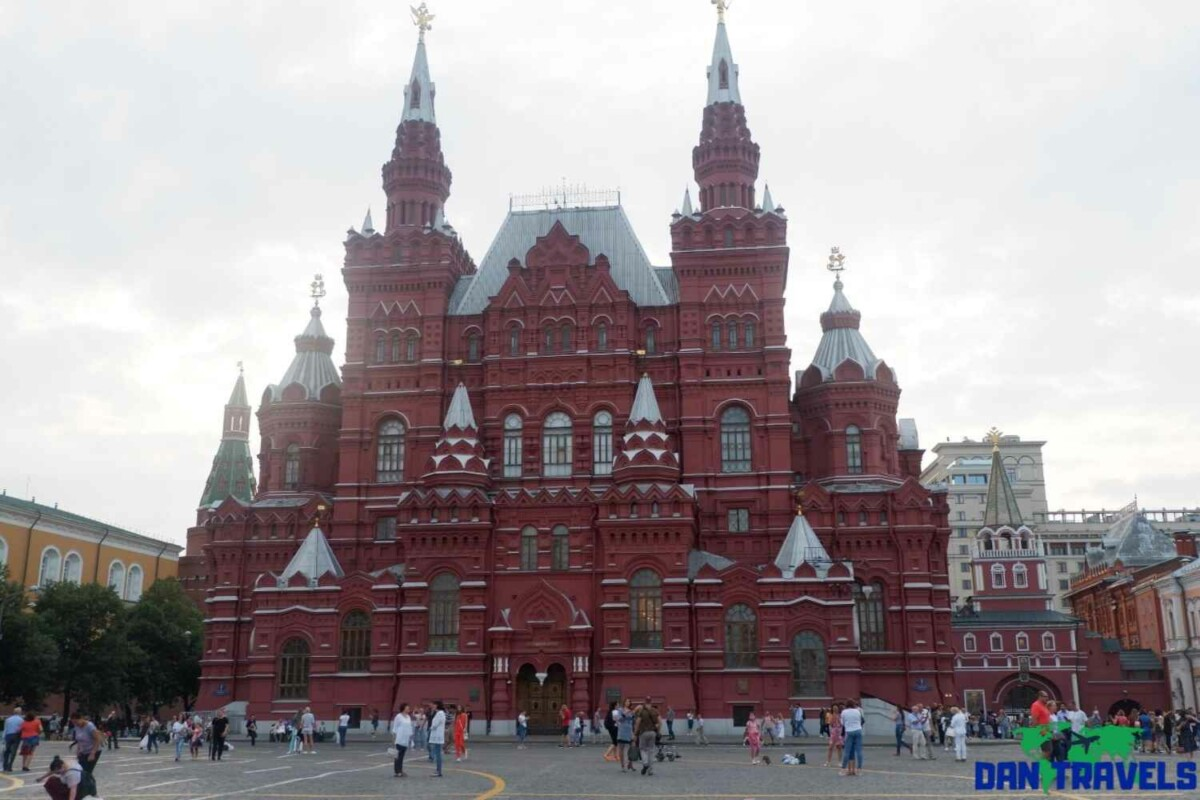 Russia Itinerary. Day 1: The State History Museum at the Red Square | Dantravels.org