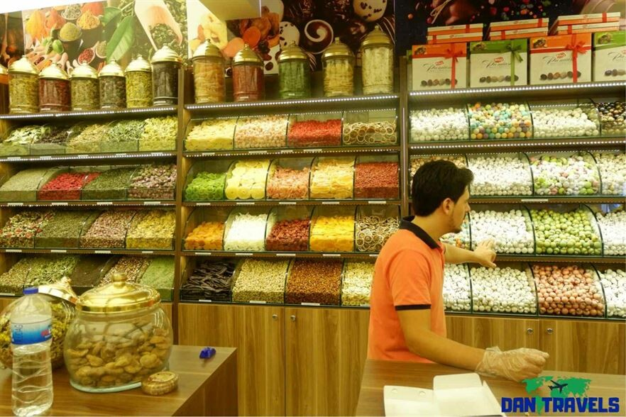 Some Turkish Delight shop stopover Turkey itinerary