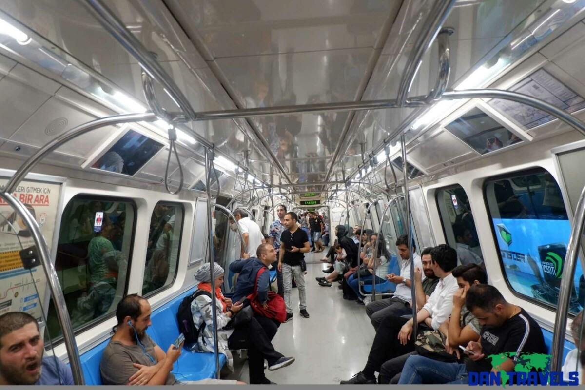 A glimpse at Istanbul's Subway