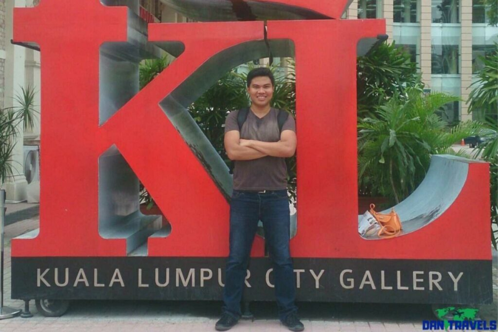 At Kuala Lumpur City Gallery Sign | Dantravels.org