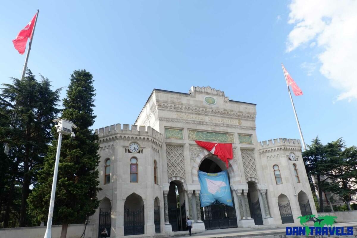 Istanbul University Turkey itinerary