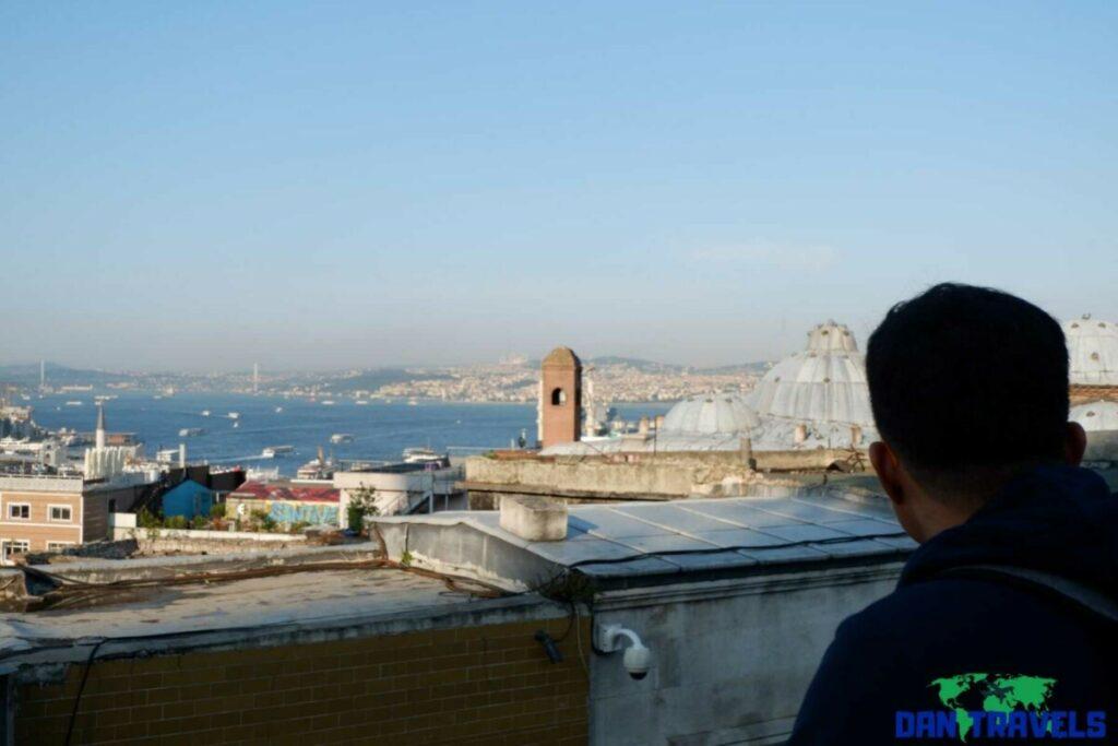 The stunning Bosporus Strait in Istanbul