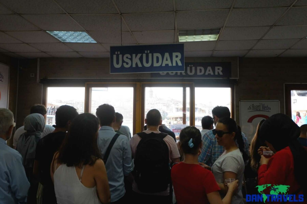 Waiting for Ferry going to Uskudar