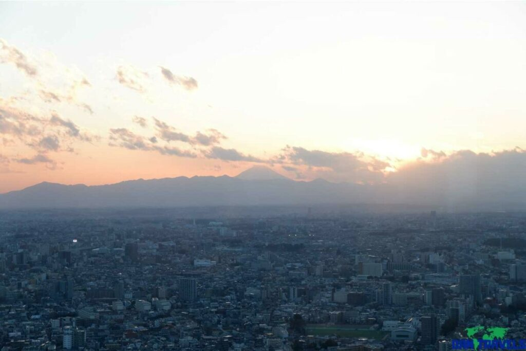 View of Tokyo with Mt. Fuji from the 45th floor of TMG building | Dantravels.org