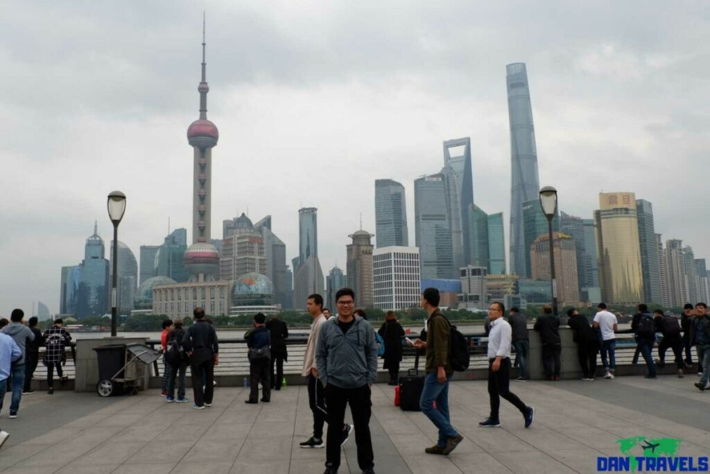 The Bund and the impressive skyline of Shanghai | Shanghai itinerary