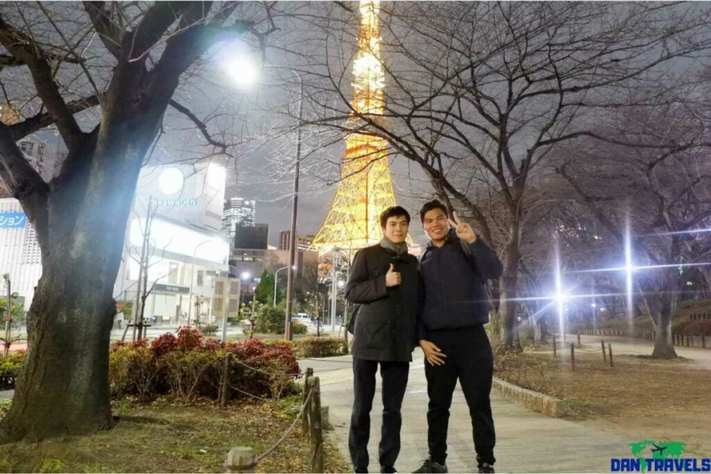 Tokyo Tower with Hayato-san | Dantravels.org