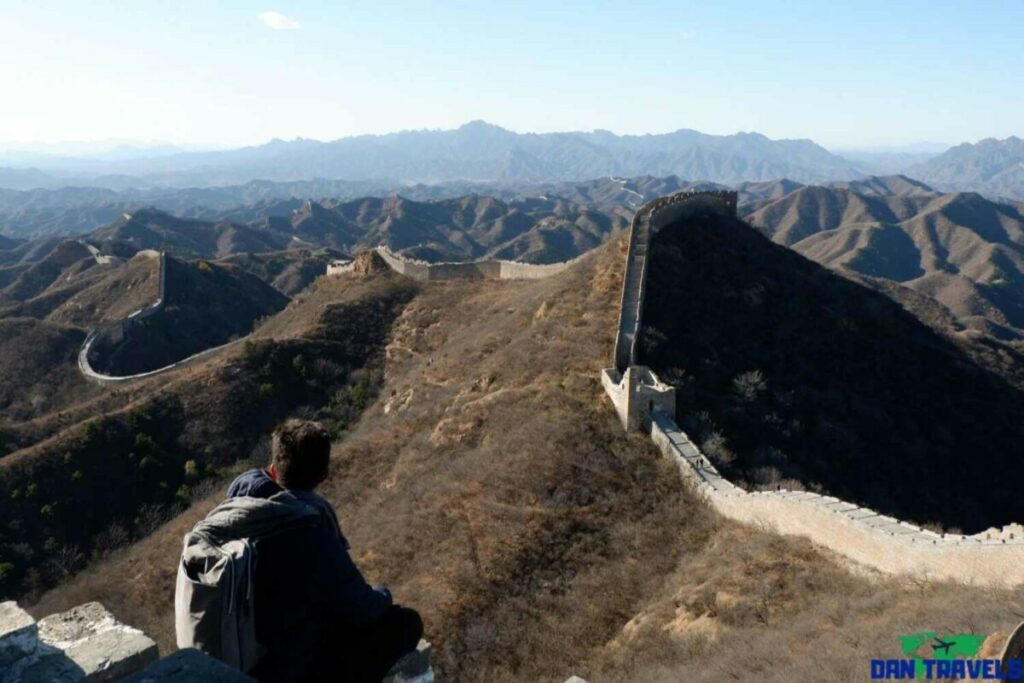 The breathtaking view of the Great Wall of China | My Beijing Itinerary