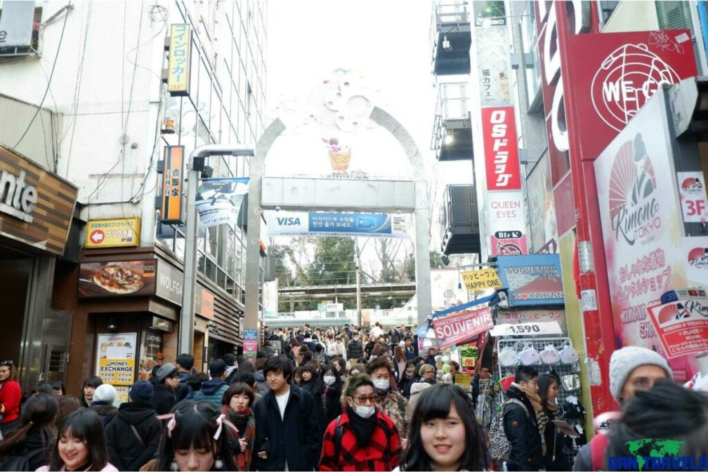 Crowded street of Takeshita | Dantravels.org