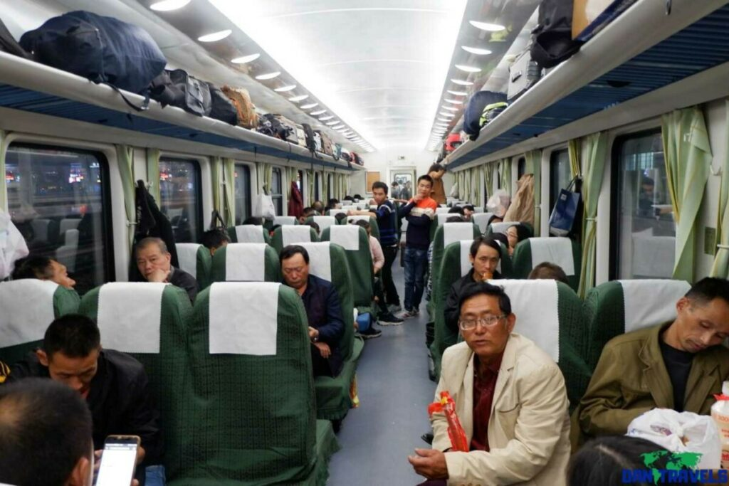 My Train to Zhangjiajie | Dantravels.org