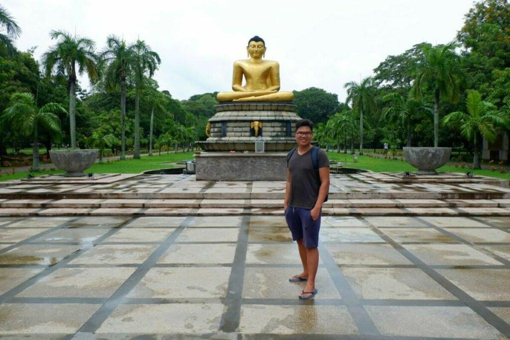 Viharamadevi Buddha Statue