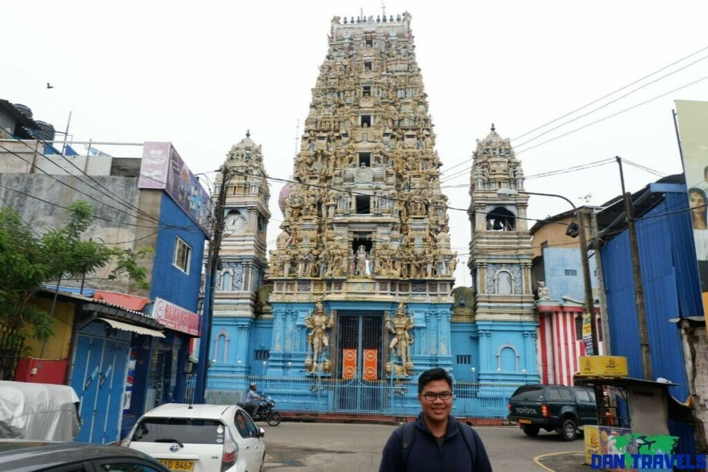 Murugan Hindu Temple in Colombo
