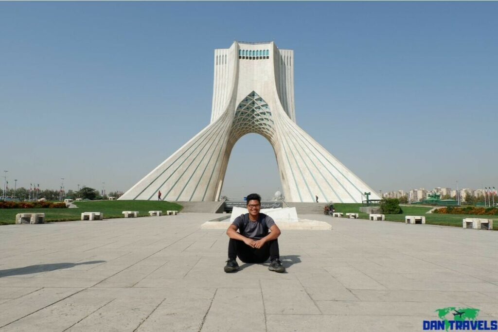 Azadi Tower from my Tehran itinerary | Dantravels.org