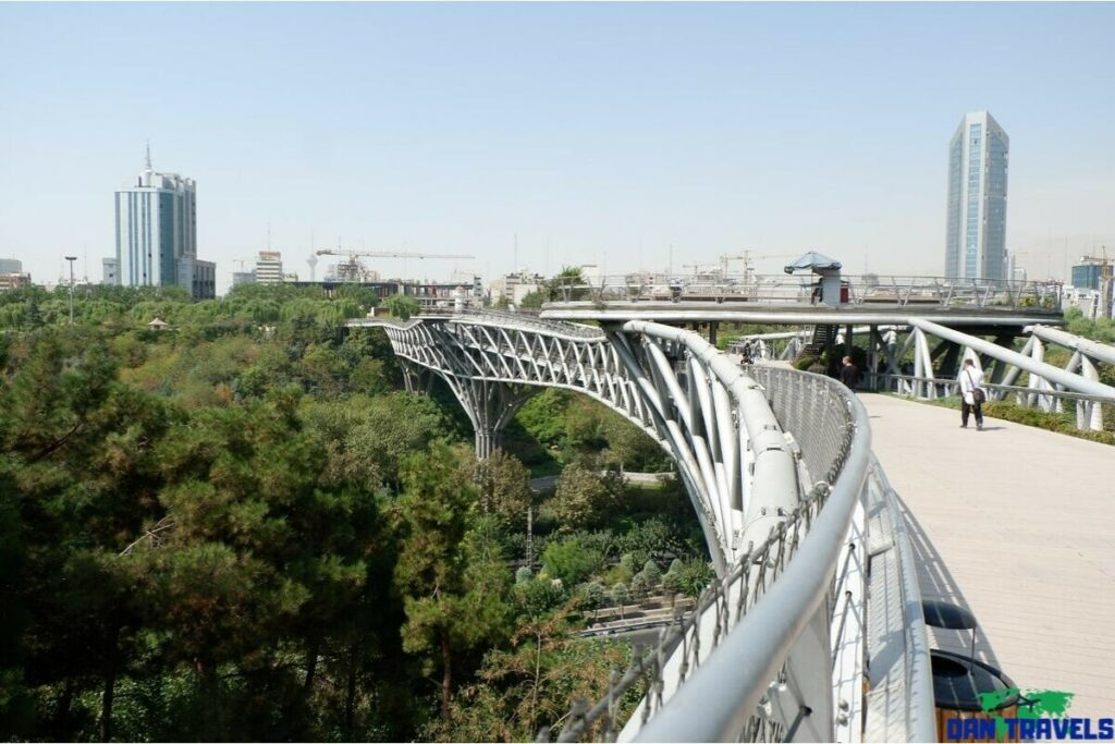 Tabiat Bridge from my Tehran itinerary