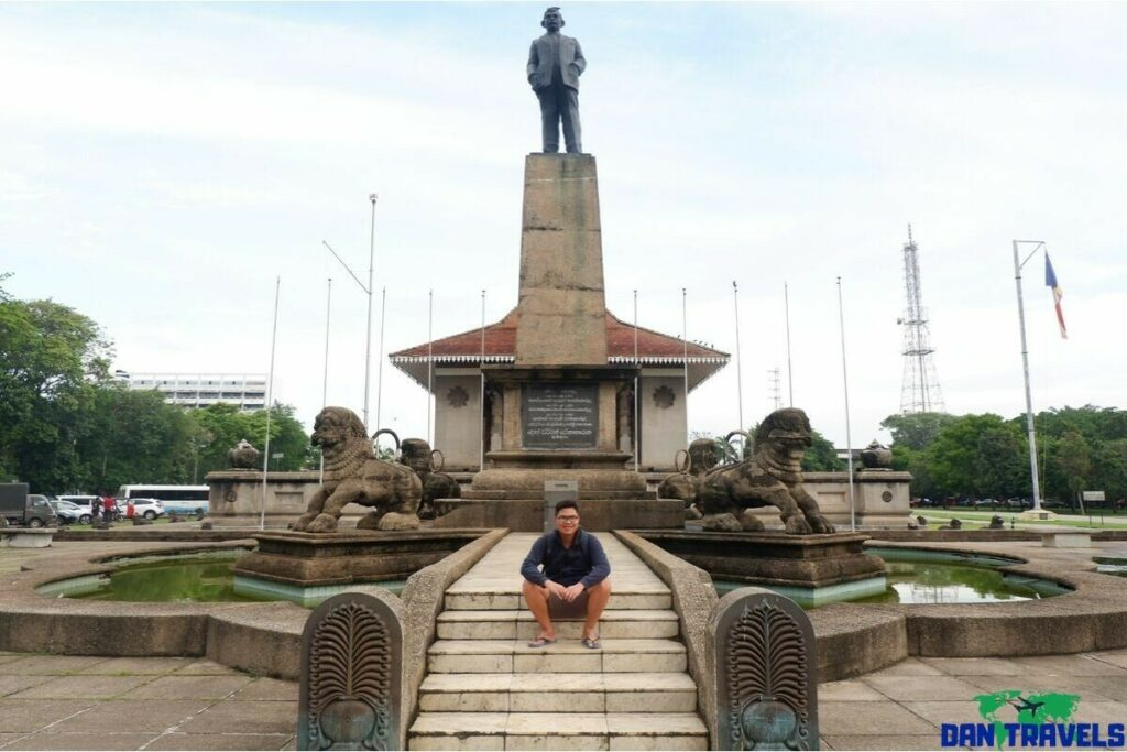 Independence Square in my Colombo itinerary