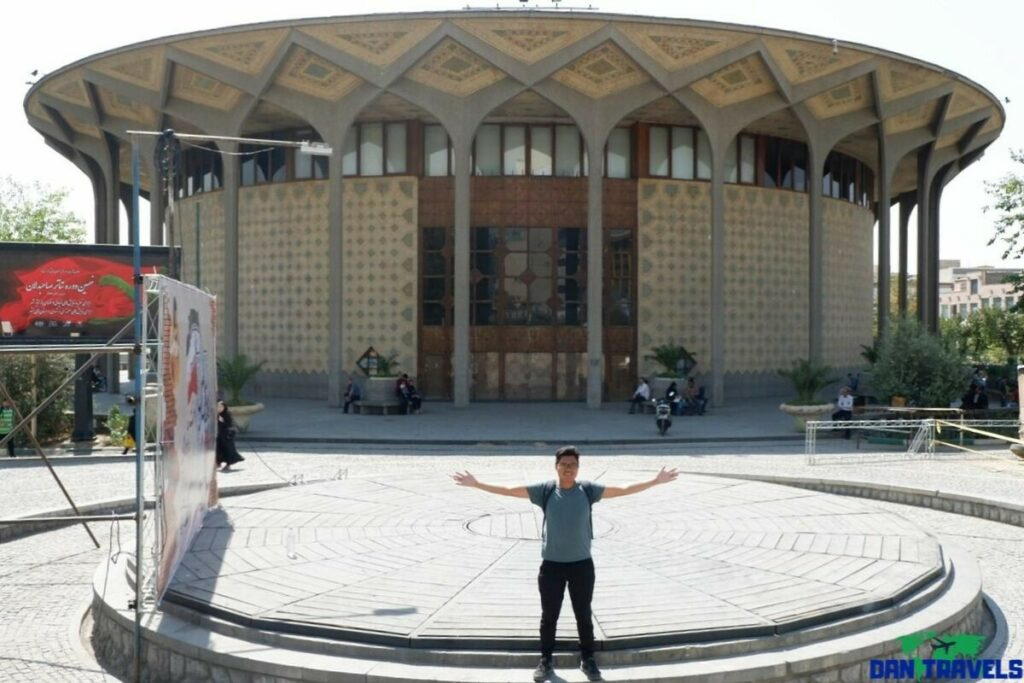 Tehran's Theater Buiding from my Tehran itinerary