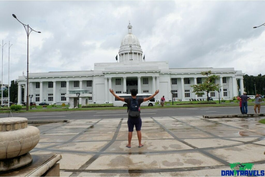 Colombo Municipal Council Hall in my Colombo Itinerary