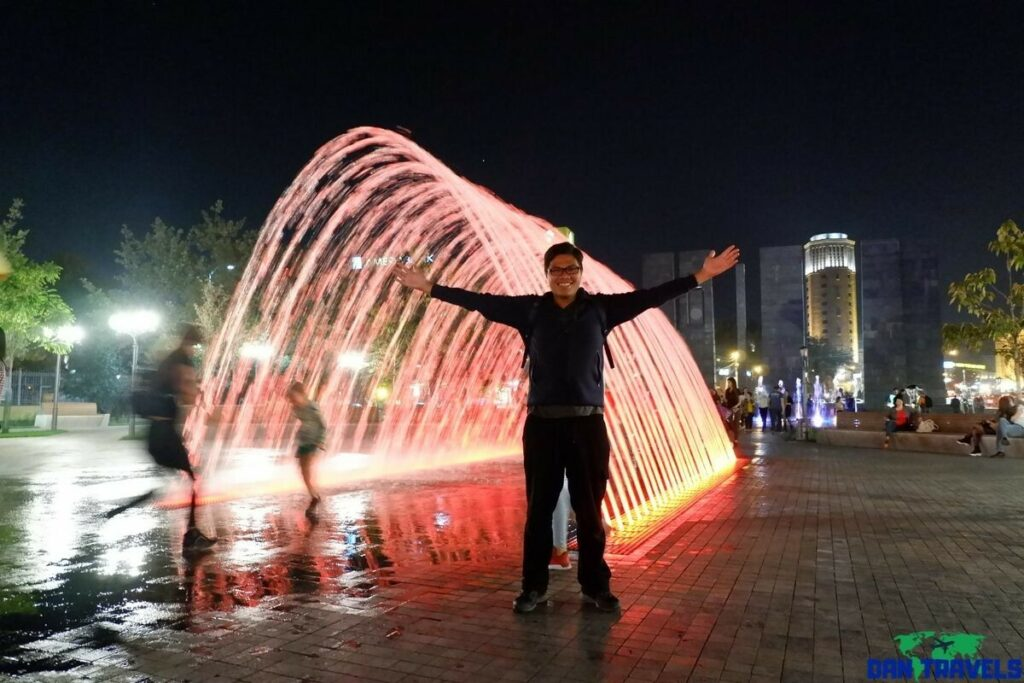 Water Fountains at Shahumyan Square