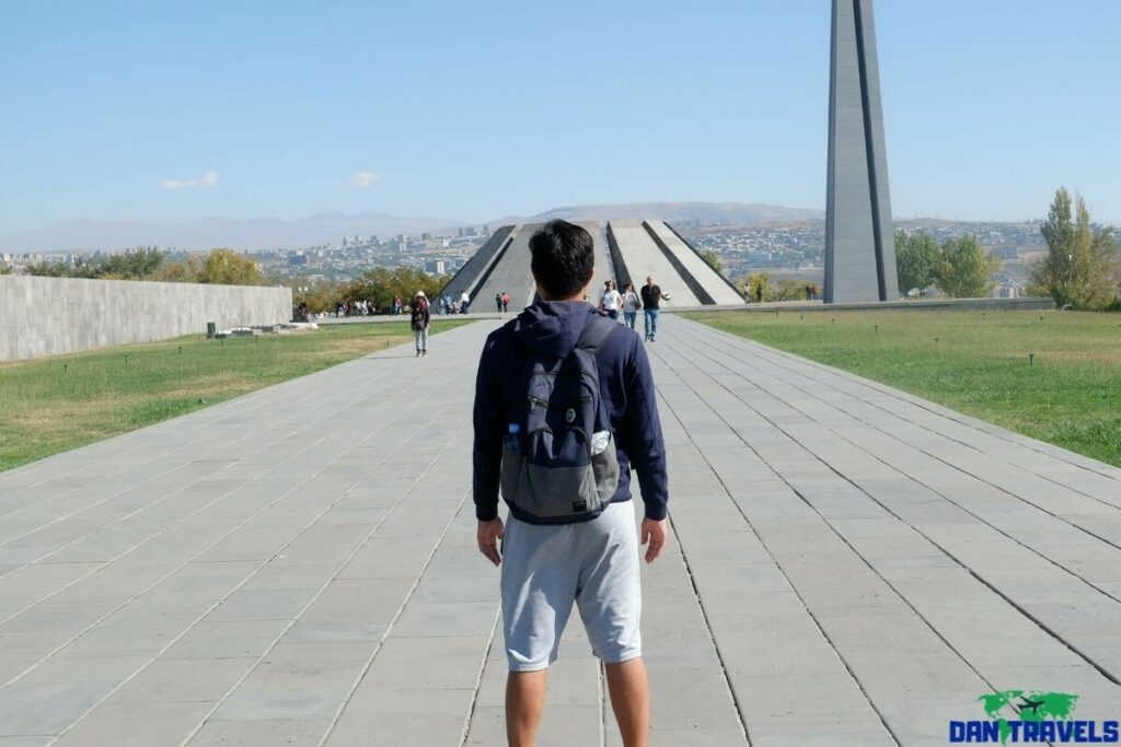 Armenian Memorial Complex from my 3-day Yerevan Itinerary