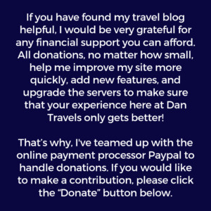Donate to Dan Travels