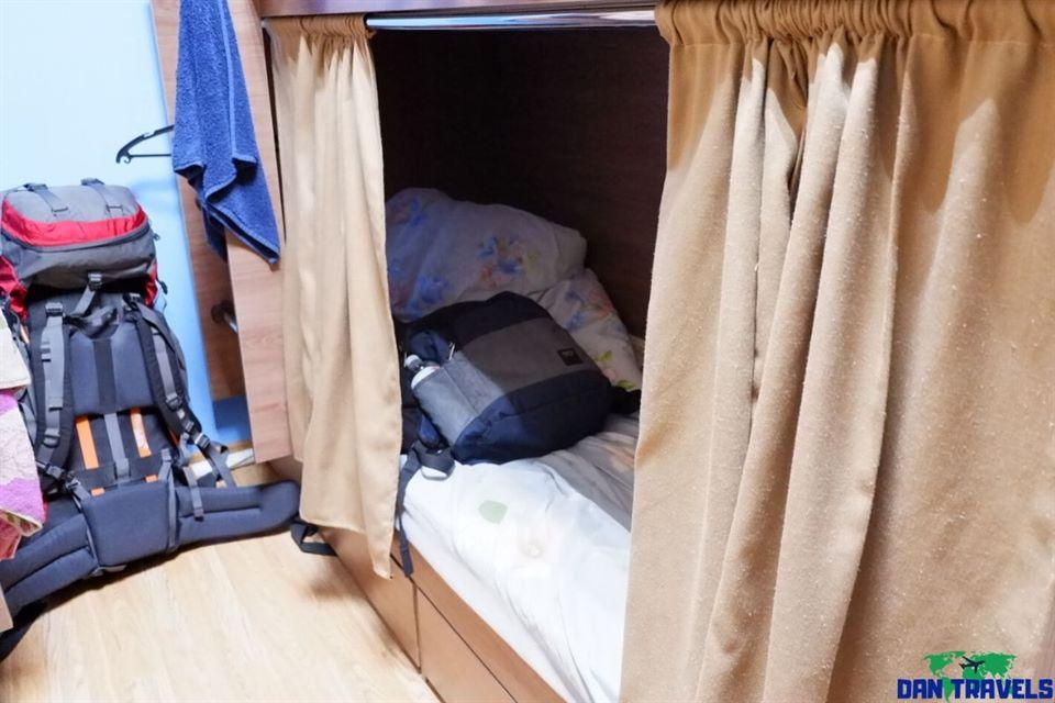 My room at Hostel Eleon | Dantravels.org