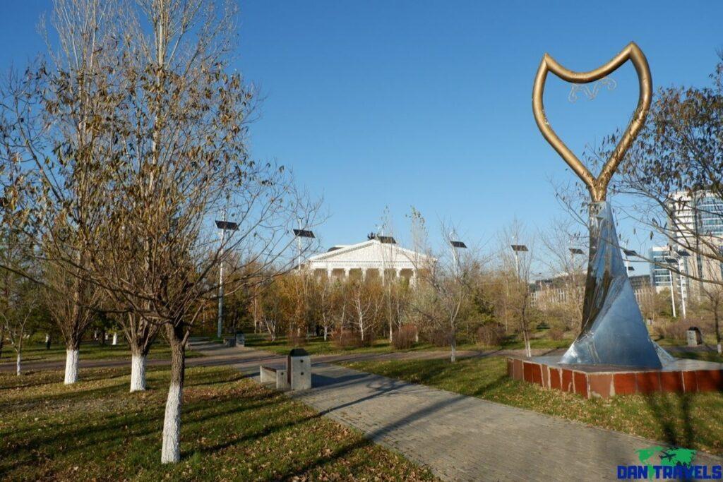 Lover's Park in Nursultan