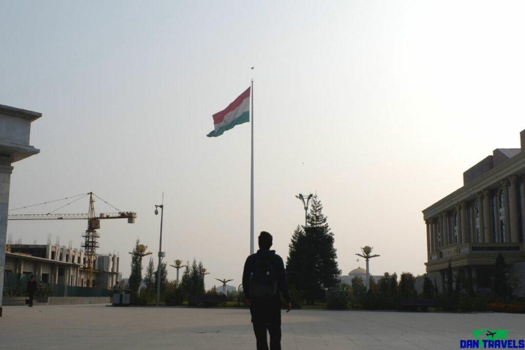 Dushanbe Flagpole Park