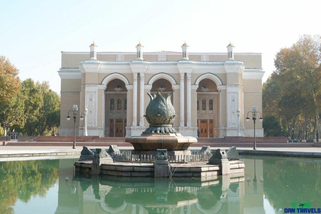 Navoi Opera Theater Tashkent