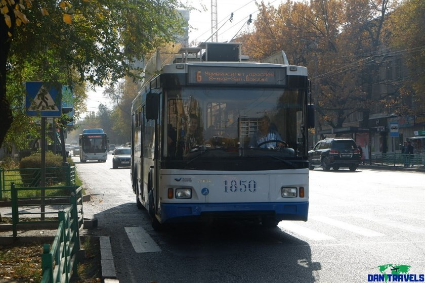 A trolley bus in Bishkek | Dantravels.org