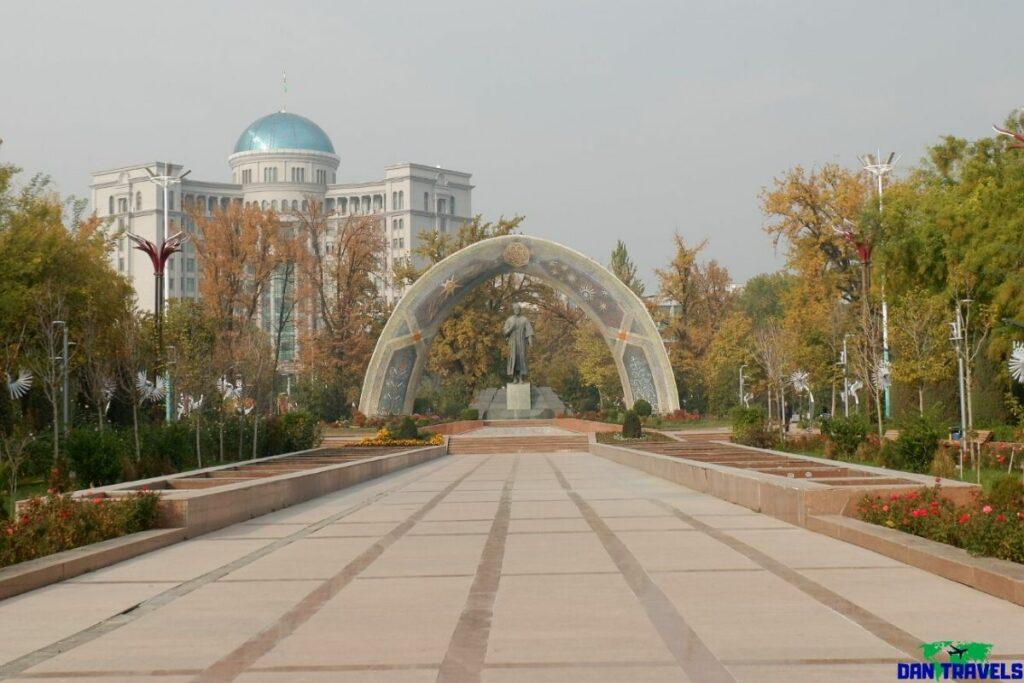 Rudaki Park in Dushanbe