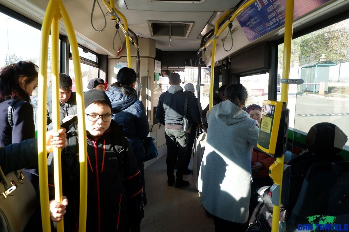 Bus number 32 in NurSultan | Dantravels.org